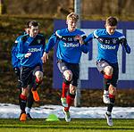 8.3.2018: Rangers training:<br /> Declan John and Matty Shields