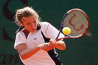 Tenis, World Championship U-14.Australia Vs. Russia.Isabella Beischer Vs. .Ulyana Ayzatulina, returnes.Prostejov, 02.08.2010..foto: Srdjan Stevanovic/Starsportphoto ©