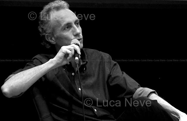 Marco Travaglio, Italian journalist - London 2010