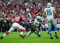 26.10.2014.  London, England.  NFL International Series. Atlanta Falcons versus Detroit Lions. Lions' WR Ryan Broyles [84] in action.