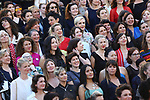 Cannes Film Festival 2018 - 71st edition - Day 5 - May 12 in Cannes, on May 12, 2018; La montée des femmes - Screening 'Les filles du soleil'. 82 women on the red carpet in protest of the lack of female filmmakers honored throughout the history of the festival