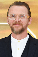 """LONDON, UK. July 30, 2019: Simon Pegg at the UK premiere for """"Once Upon A Time In Hollywood"""" in Leicester Square, London.<br /> Picture: Steve Vas/Featureflash"""