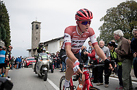 Toms Skujins (LVA/Trek-Segafredo) is part of the day's breakaway<br /> <br /> 113th Il Lombardia 2019 (1.UWT)<br /> 1 day race from Bergamo to Como (ITA/243km)<br /> <br /> ©kramon