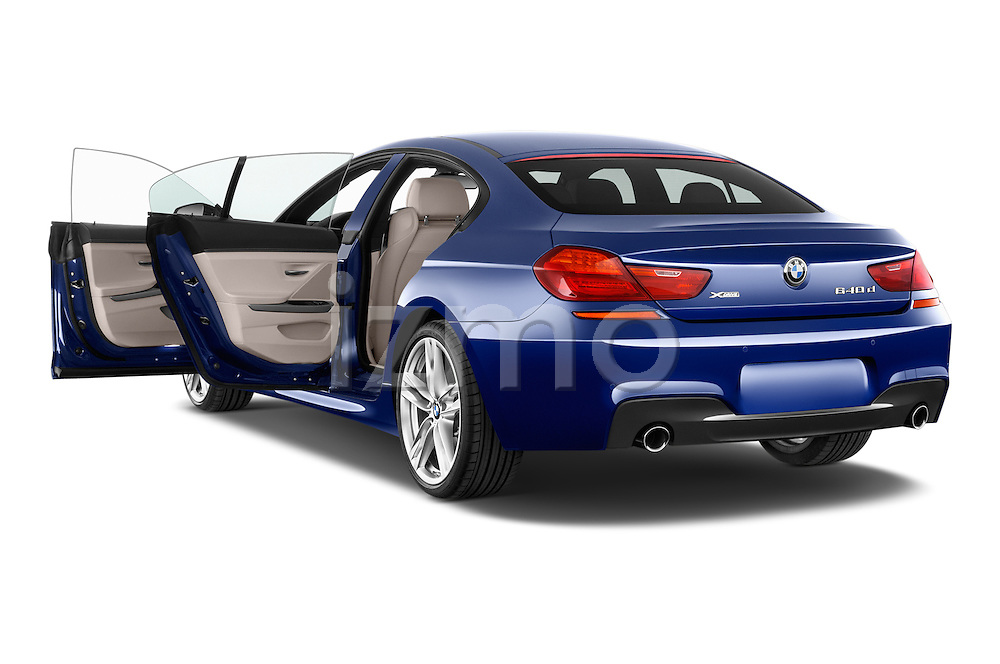 Car images close up view of a 2015 BMW 6 Series M Sport 2 Door Coupe doors