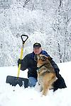 Snow in Commonwealth of Virginia, Fine Art Photography by Ron Bennett, Fine Art, Fine Art photography, Art Photography, Copyright RonBennettPhotography.com ©