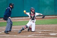 Stanford, CA, April 11, 2014. Stanford Softball vs. University of Washington. Stanford won 13-5.