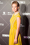 Charlotte Vega attends to the award ceremony of the VIII edition of the Cosmopolitan Awards at Ritz Hotel in Madrid, October 27, 2015.<br /> (ALTERPHOTOS/BorjaB.Hojas)
