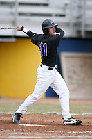 March 22nd 2009:  Designated Hitter Jason Allinder (11) of the Niagara University Purple Eagles during a game at Sal Maglie Stadium in Niagara Falls, NY.  Photo by:  Mike Janes/Four Seam Images