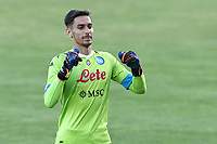 Alex Meret of SSC Napoli<br /> during the friendly football match between SSC Napoli and Castel di Sangro Cep 1953 at stadio Patini in Castel di Sangro, Italy, August 28, 2020. <br /> Photo Cesare Purini / Insidefoto