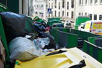 09/06/2016 - PARIS - FRANCE - GREVE DES EBOUEURS A PARIS, 10EME ARRONDISSEMENT DE PARIS