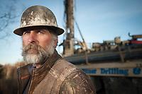 Milo Pitner of Pitner Drilling in Palmer, AK.