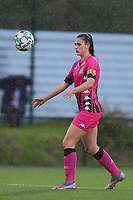 Alysson Duterne (14) of Charleroi  pictured during a female soccer game between Sporting Charleroi and White Star Woluwe on the 7 th matchday in play off 2 of the 2020 - 2021 season of Belgian Scooore Womens Super League , friday 14 th of May 2021  in Marcinelle , Belgium . PHOTO SPORTPIX.BE | SPP | Sevil Oktem