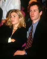 John McEnroe Tatum O'Neal 1991<br /> Photo By John Barrett/PHOTOlink