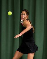 March 14, 2015, Netherlands, Rotterdam, TC Victoria, NOJK, Kim Hansen (NED)<br /> Photo: Tennisimages/Henk Koster