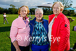 Enjoying the evening in Casement View, Ardfert as they support the Comfort for Chemo fundraiser on Sunday, l to r: Peggy Sullivan, Peggy Geary and Mary Sullivan.