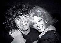 """Gerome Ragni (co-author of """"Hair"""")<br /> and Monique Van Vooren 1978<br /> Photo by Adam Scull/PHOTOlink"""