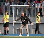 01.08.2019 Progres Niederkorn v Rangers: Progres manager