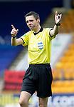 St Johnstone v St Mirren……29.08.20   McDiarmid Park  SPFL<br />Referee Kevin Clancy<br />Picture by Graeme Hart.<br />Copyright Perthshire Picture Agency<br />Tel: 01738 623350  Mobile: 07990 594431