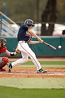 SAN ANTONIO, TX - MARCH 10, 2009: The Illinois State University Redbirds vs. The University of Texas at San Antonio Roadrunners Baseball at Roadrunner Field. (Photo by Jeff Huehn)