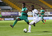 BOGOTA -COLOMBIA, 18-09-2020: La Equidad y Boyacá Chicó en partido por la fecha 9 de la Liga BetPlay DIMAYOR I 2020 jugado en el estadio Estadio Metropolitano de Techo de la ciudad de Bogotá. / La Equidad and Boyaca Chico in match for the date 9 BetPlay DIMAYOR League I 2020 played at Metropolitano de Techo stadium in Bogota city. Photo: VizzorImage/ Felipe Caicedo / Staff
