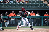 STANFORD, CA - MAY 29: Brett Barrera during a game between Oregon State University and Stanford Baseball at Sunken Diamond on May 29, 2021 in Stanford, California.