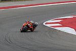 MotoGP and Moto2 riders practice before the Red Bull Grand Prix of the Americas at the Circuit of the Americas racetrack in Austin,Texas.