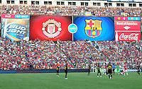 FC Barcelona  vs Manchester United,  July 30, 2011