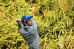 Sébastien Gros of France tees off during the 58th UBS Hong Kong Golf Open as part of the European Tour on 09 December 2016, at the Hong Kong Golf Club, Fanling, Hong Kong, China. Photo by Vivek Prakash / Power Sport Images