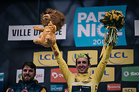 Simon Yates (GBR/Michelton-Scott) wins the stage and is the new overall leader (going into the final stage)<br /> <br /> 76th Paris-Nice 2018<br /> Stage 7: Nice > Valdeblore La Colmiane (175km)