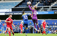 Toby Savin of Accrington Stanley collects the ball during AFC Wimbledon vs Accrington Stanley, Sky Bet EFL League 1 Football at The Kiyan Prince Foundation Stadium on 3rd October 2020