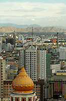 Urumqi the capital of Xinjiang Province, China. Xinjiang has a large population of Muslims including 20 million ethnic Uighurs but Han Chinese now outnumber the local Uighurs. The Uighurs have been fighting an underground gorilla war and some groups are seen as terrorists by the Communist Party. .
