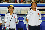 (L to R) Midori Honda Coach (JPN),   Hiroshi Yoshida Head Coach (JPN), .AUGUST 26, 2012 - Football / Soccer : .FIFA U-20 Women's World Cup Japan 2012, Group A .match between Japan 4-0 Switzerland .at National Stadium, Tokyo, Japan. .(Photo by Daiju Kitamura/AFLO SPORT) [1045]