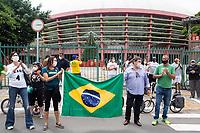 06/12/2020 - PROTESTO CONTRA A DEMOLIÇÃO DO COMPLEXO DO IBIRAPUERA