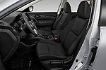 Front seat view of 2020 Nissan Rogue S 5 Door SUV Front Seat  car photos