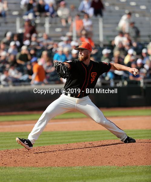 Conner Menez - San Francisco Giants 2019 spring training (Bill Mitchell)