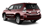 Car pictures of rear three quarter view of 2018 Lexus GX 460 5 Door SUV Angular Rear