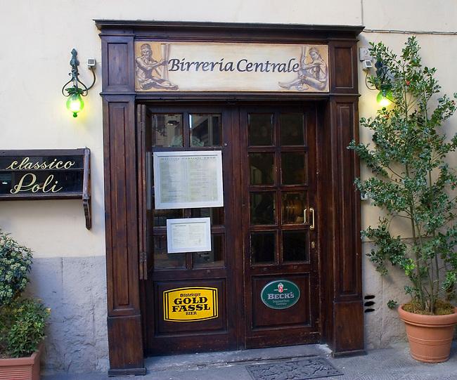 Birreria Central Restaurant, Florence, Italy