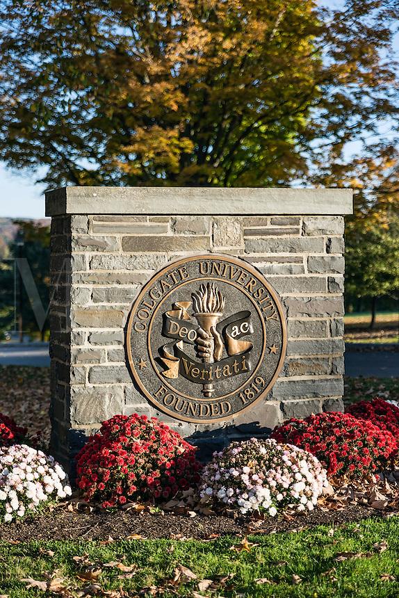 Colgate University campus, Hamilton, New York, USA