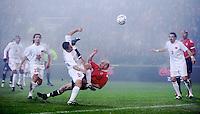 Oslo, 20071117. EM-kvalik, Norge-Tyrkia. Erik Hagen scorer 1-1. (ny versjon). Foto: Eirik Helland Urke / Dagbladet