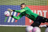 7th October 2020; Granja Comary, Teresopolis, Rio de Janeiro, Brazil; Qatar 2022 qualifiers; Santos of Brazil during training session