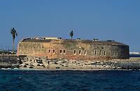 Afrique/Afrique de l'Ouest/Sénégal/Gorée : Le fort