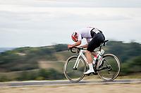 Silvan Dillier (SUI/AG2R-La Mondiale)<br /> <br /> Men's Elite Road Race from Imola to Imola (258km)<br /> <br /> 87th UCI Road World Championships 2020 - ITT (WC)<br /> <br /> ©kramon