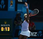 Sloane STEVENS (USA) wins at Australian Open in Melbourne Australia on 21st January 2013
