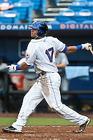 Jose Coronado #17 of the St. Lucie Mets during game 3 of the Florida State League Championship Series against the Daytona Cubs at Digital Domain Park on Spetember 11, 2011 in Port St. Lucie, Florida. Daytona won the game 4-2 to win the Florida State League Championship.  Photo by Scott Jontes / Four Seam Images