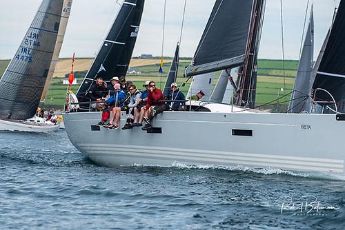 Freya, the Xp50 skippered by Kinsale Yacht Club's Conor Doyle Photo: Bob Bateman