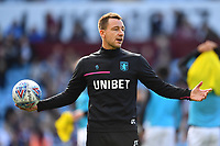 John Terry Assistant Manager of Aston Villa during the pre-match warm-up for the Sky Bet Championship match between Aston Villa and Swansea City at Villa Park in Birmingham, England, UK.  Saturday 20 October  2018