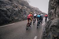 Jesús Herrada (FRA/Cofidis) closing the line in the breakaway group<br /> <br /> 76th Paris-Nice 2018<br /> Stage 7: Nice > Valdeblore La Colmiane (175km)