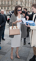 January 30 2018, PARIS FRANCE<br /> Actress Angelina Jolie arrives at the Guerlain<br /> Store in Champs Elysees Paris. # ANGELINA JOLIE A PARIS