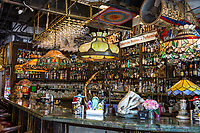 Miami, Florida.  Bar inside the Cubaocho Museum, Little Havana.