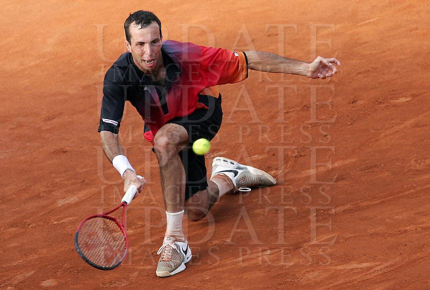 Internazionali d'Italia di tennis a Roma, 9 maggio 2008..Italy's Masters tennis tournament in Rome, 9 may 2008. Czech Republic's Radek Stepanek..UPDATE IMAGES PRESS/Riccardo De Luca